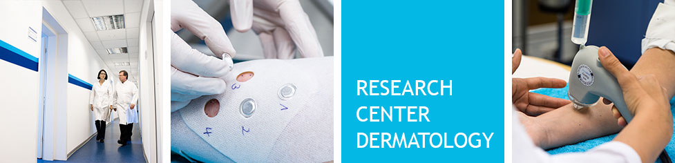 Research Center Dermatology – In-house dermatologists, recruitment database